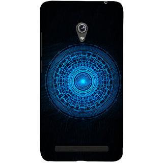 Snapdilla Cool Crazy Digital Sci-Fi Blue Wheel Unique Superb Mobile Case For Asus Zenfone 5