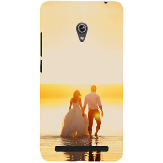 Snapdilla Sunset Theme Just Married Couple Walk Marry Me Girlfriend Proposal Smartphone Case For Asus Zenfone 5