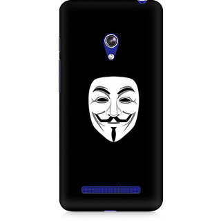 CopyCatz Mask Of V Premium Printed Case For Asus Zenfone Go