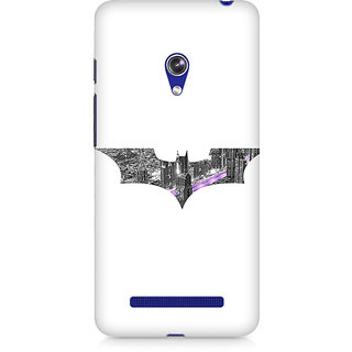 CopyCatz Bat Logo Arkham City Premium Printed Case For Asus Zenfone 5