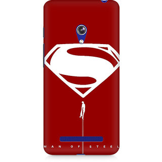 CopyCatz Man Of Steel Premium Printed Case For Asus Zenfone 5