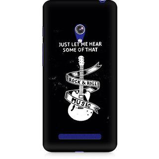 CopyCatz Rock And Roll Premium Printed Case For Asus Zenfone Go