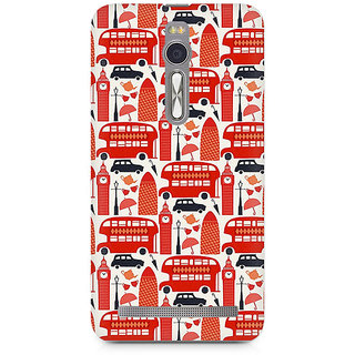 CopyCatz Travel In London Premium Printed Case For Asus Zenfone 2