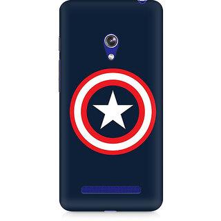CopyCatz Captain America Logo Premium Printed Case For Asus Zenfone 5