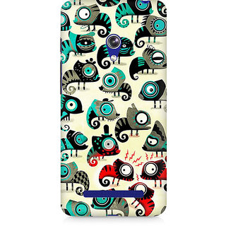 CopyCatz Colorful Chameleon Premium Printed Case For Asus Zenfone Go
