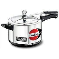 HAWKINS H56 Hevibase Induction Compatible Aluminum Pressure Cooker, 5-Liter