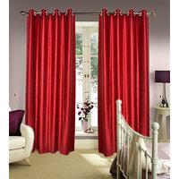 JBG Home Store Set Of 2 Decent Plain Door Curtains [CLONE]