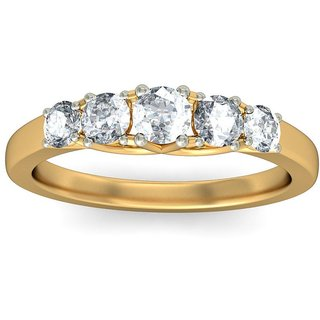 Certified Diamond Ring(band Shape) By AmoghJjewels
