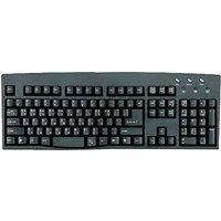 Korean - English Black USB Computer Keyboard