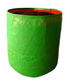 HDPE Grow bag 10 nos Size 12 x 18 Inch ( 1 x 1.5 feet) Terrace/Kitchen Garden