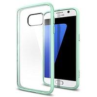 Galaxy S7 Case, Spigen [Ultra Hybrid] AIR CUSHION [Mint] Clear back panel + TPU bumper for Samsung Galaxy S7 (2016) - (5