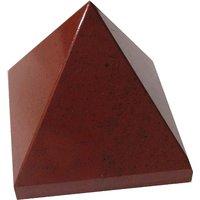 Red Jasper Pyramid - A Fire Stone Healing Crystal / Reiki Pyramid