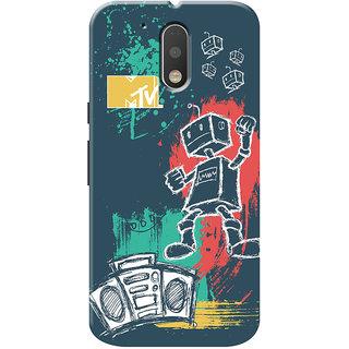 MTV Gone Case Mobile Cover For Motorola Moto G4