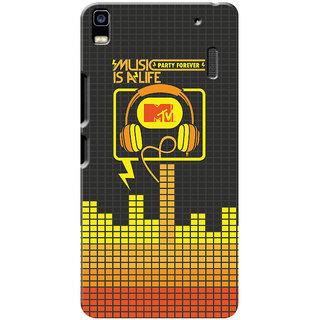 MTV Gone Case Mobile Cover For Lenovo K3 Note