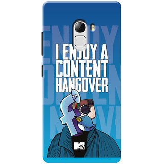 MTV Gone Case Mobile Cover For Lenovo Vibe K4 Note