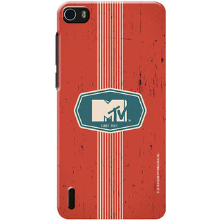MTV Gone Case Mobile Cover For Huawei Honor 6