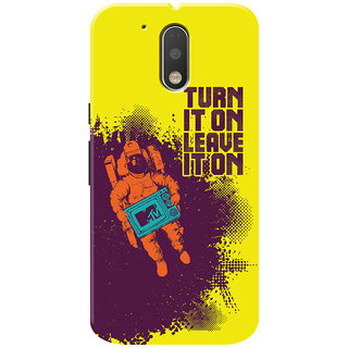 MTV Gone Case Mobile Cover For Motorola Moto G4