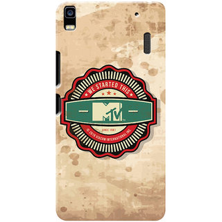 MTV Gone Case Mobile Cover For Lenovo K3 Note