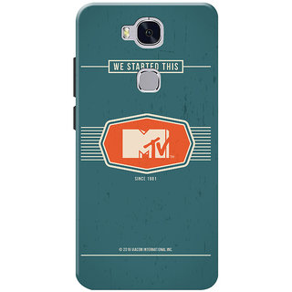 MTV Gone Case Mobile Cover For Huawei Honor 5X