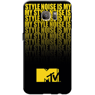 MTV Gone Case Mobile Cover For Samsung Galaxy S7 Edge