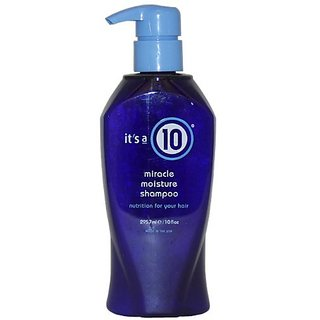 Its A 10 Miracle Moisture Shampoo, 10-Ounce Bottle