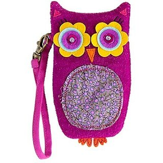 Natural Life Critter Pouch Bag, Owl