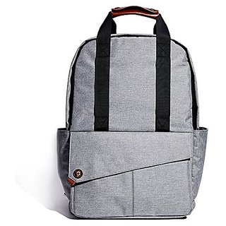 KALIDI 15 Inch Waterproof Laptop Backpack Mutil-fuctional Rucksack Bag For Dell Xps 13/Macbook/Surface(Grey)