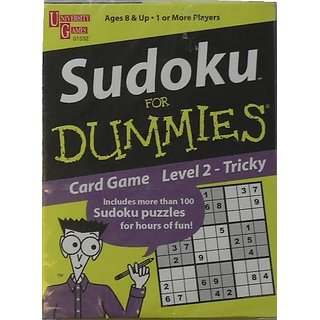 Sudoka for Dummies Card Game Level 2 - Tricky