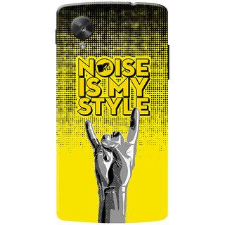 MTV Gone Case Mobile Cover For LG Nexus 5