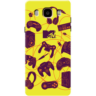 MTV Gone Case Mobile Cover For Samsung Galaxy J5 (2016)