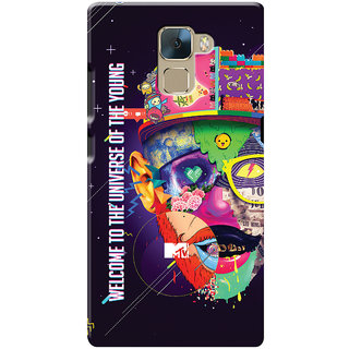 MTV Gone Case Mobile Cover For Huawei Honor 7