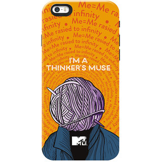 MTV Gone Case Mobile Cover For Apple Iphone 5