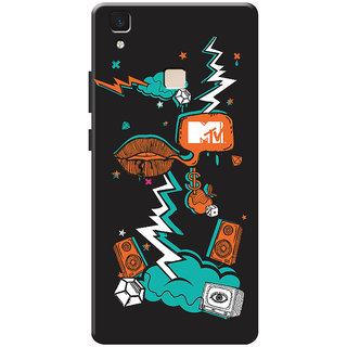 MTV Gone Case Mobile Cover For VIVO V3