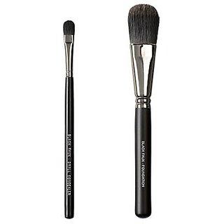 Makeover Vegan Love Black Faux Duo Brush Set, BKF68