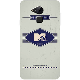 MTV Gone Case Mobile Cover For Coolpad Note 3