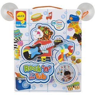 ALEX Toys Rub a Dub Rockn in the Tub