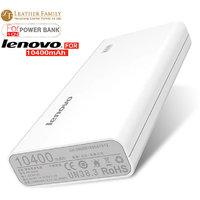 Latest Lenovo 10,400mAh  USB Portable Charger With LED Display For Power Bank - 104039656