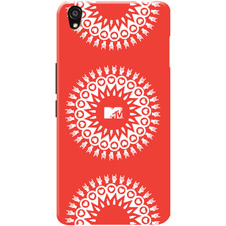 MTV Gone Case Mobile Cover For OnePlus X