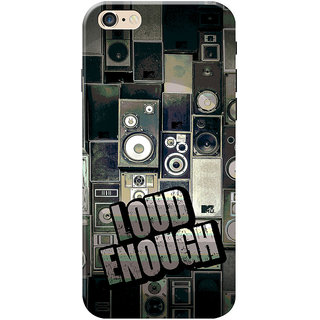 MTV Gone Case Mobile Cover For Apple Iphone 6S Plus