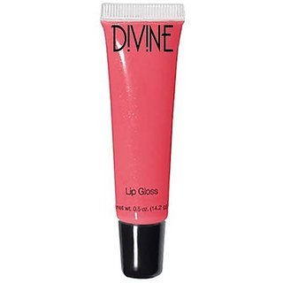 Divine Skin & Cosmetics - Lip Gloss with Subtle Tones to Enhance Your Natural Lip Color - Super Pomegranate