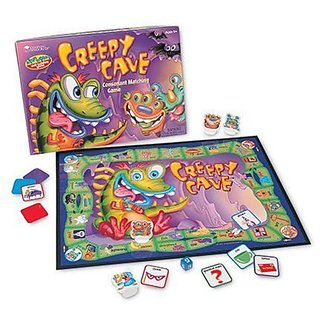 Learning Resources - Creepy Cave Consonant Matching Game