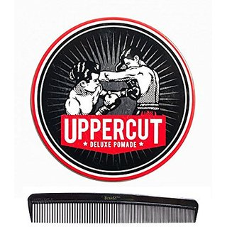 Uppercut Deluxe Pomade 3.5oz, with BraidZ Comb