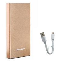 Original Lenovo 10400mAh Mobile Charger Power Bank Universal USB Port-Black