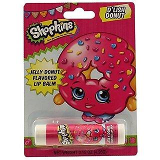 Shopkins DLish Donut Lip Balm ~ Jelly Donut Flavored (2 Pack)