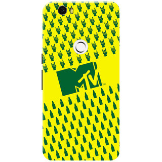MTV Gone Case Mobile Cover For Huawei Nexus 6P
