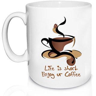 Archies Enjoy Ur Coffee Personalised White Mug At Best