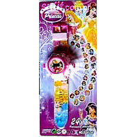 PRINCESS 24 IMAGE PROJECTOR WATCH GIFT TOY FOR KID