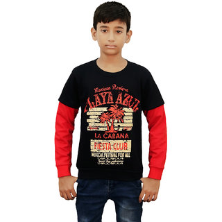 Kothari boys Full Sleeve pullover Fleece sweatshirt