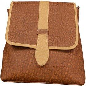Azzra Dark Brown Handbags for Women