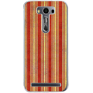 ifasho Design lines pattern Back Case Cover for Asus Zenfone Go